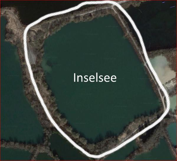 Luftbild des Inselsees